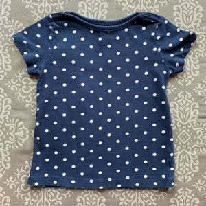 Baby Gap Polka Dot Short Sleeve TShirt